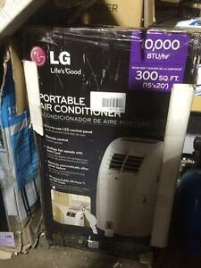 LG 10,000 WATTS BTU PORTABLE AIR CONDITION LP1013WNR
