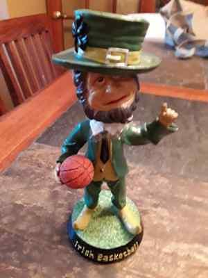 Notre Dame Fighting Irish Basketball Bobblehead