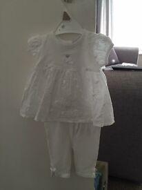 Mayoral baby girls top and pants set