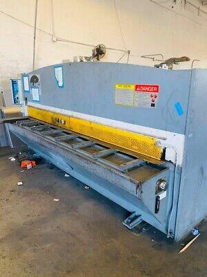 14 X 10 Atlantic Hde 10.14 Hydraulic Power Squaring Shear Metal Cutting 2000