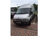 silver ford transit 350 jumbo 06 plate