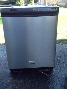 Frigidare Ss stainless steel dishwasher