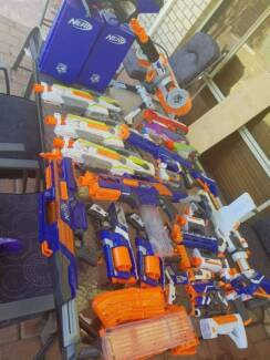 Nerf Guns Galore no bullets.
