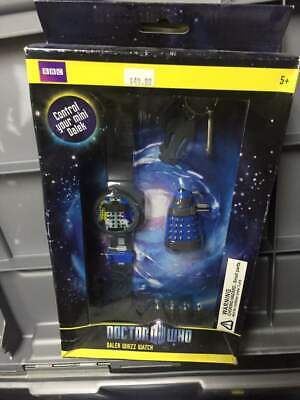 Doctor Who Digital Watch - Dalek Whizz Watch With Mini Remote Controlled Figure