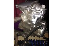 Yamaha wr 125 engine