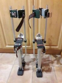 "American Sur-Pro stilts 18""-30"" Brand New never been used"