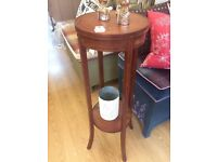 SALE !! Lovely Antique Plant Table