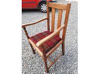 Oak Carver chair