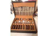 BOXED SET OF CUTLERY