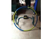 Exercise weighted Hula hoop+abdo trim