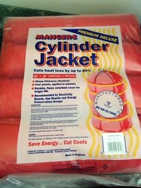 "Brand New HOT WATER CYLINDER JACKET 18"" X 48"" X 80MM X 1219MM"