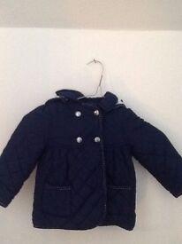 Girls coat (12-18 months)