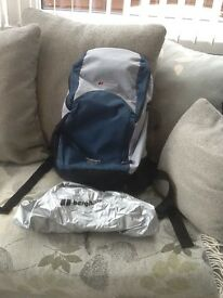 Berghaus cage rucksack with attached waterproof cover .Pick up only
