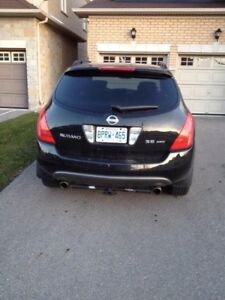 2004 Nissan murano 4Es for seal
