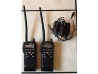Two star M-298 vhf boat radios by SILVA plus charger.