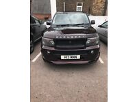 For sale RANGE ROVER SPORT TUNED BY NKANZ. 4.4 supercharged