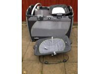 BABY BED AND BABY CHANGING AND BABY ROCKER AND BABY SOUND MUSIC