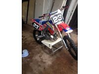 cr 250 not rm kx crf yz motocross