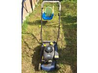 Petrol lawnmower working good condition