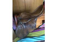 """17"""" Stuben saddle."""