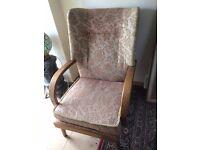 lovely vintage fireside chair