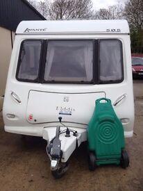 2007 Elddis Avante 505 Touring Caravan