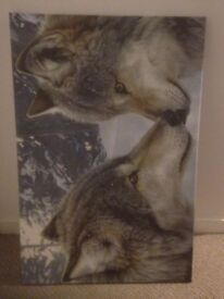 Wolf Canvas Picture