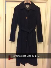 Excellent Condition Per Una Size 10 Coat