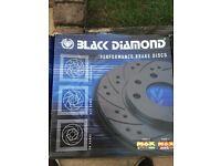 MERCEDES VANEO BLACK DIAMOND PERFORMANCE DISC BRAKES - BRAND NEW