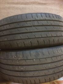 *** 2 CONTINENTAL 205/45 R17 TYRES***