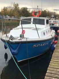 27ft aquastar fishing boat