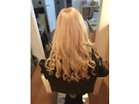 Free fitting for hair extensions