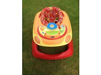 Chicco Baby Walker with removable musical play tray