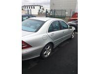 Spares or Repair 2001 51 Mercedes C240 Avantgarde.