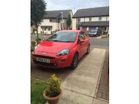 1.2 Fiat Punto (Low mileage, 2 years old, MOT not required until 2017)
