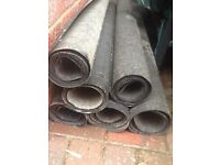 Heavy duty roofing felt 2kg/m various lengths ideal for small shed