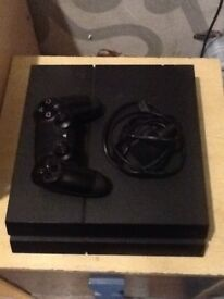 Ps4 good condition with controller No games