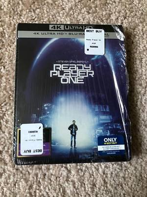 Ready Player One 4K Ultra HD + Blu-Ray STEELBOOK Best Buy SOLD