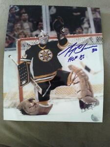 BOSTON BRUINS AUTOGRAPHED PHOTOS AND PUCKS Edmonton Edmonton Area image 3
