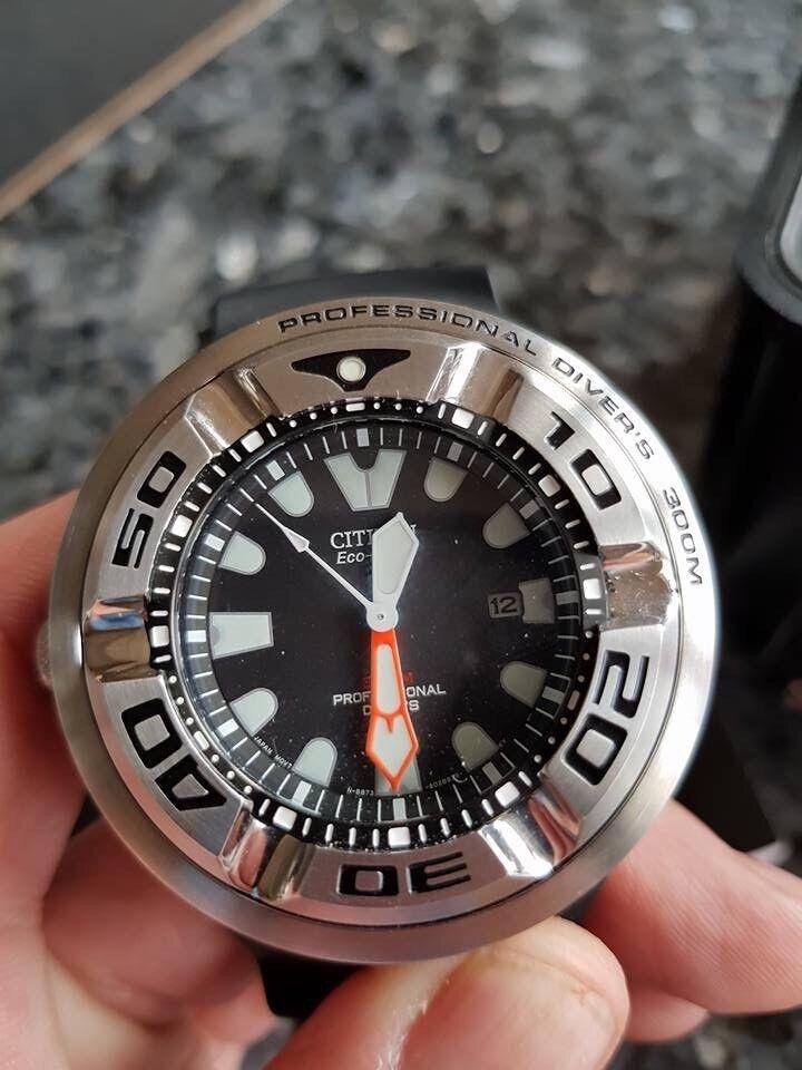 Citizen 'ECOZILLA' Divers watch, very rare watch