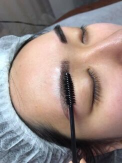 Eyebrows feathering& eyelashes extensions  Sydney City Inner Sydney Preview
