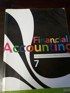 Financial Accounting 7th Edition Horngren Harrison Oliver et al Gilgai Inverell Area Preview