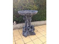 CONCRETE GARDEN ORNAMENTS BIRD BATHS WHEEL BARROW BOOTS LIONS DOGS MUSHROOMS MAN DAF LORRIES