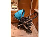 Oyster 2 ocean pushchair carry cot & more