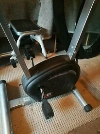 Brand new Exercise bike and stairs royal just