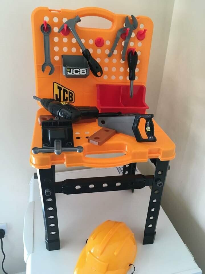 Fantastic Jcb Kids Tool Bench And Box With Lots Of Tools And Accessories 12 For All Collection From Shepshed In Shepshed Leicestershire Gumtree Creativecarmelina Interior Chair Design Creativecarmelinacom