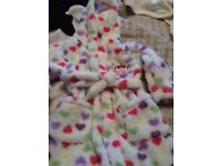 Age 4-5 new, lovely soft dressing gown
