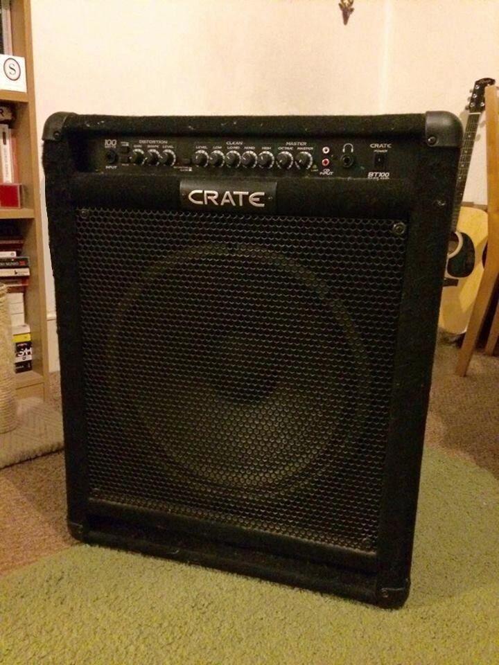 crate bt100 bass amp manual