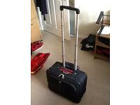Wenger Laptop/Travel Case w/ extendable handle - Black/Red