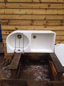 Belfield Ceramic Sink